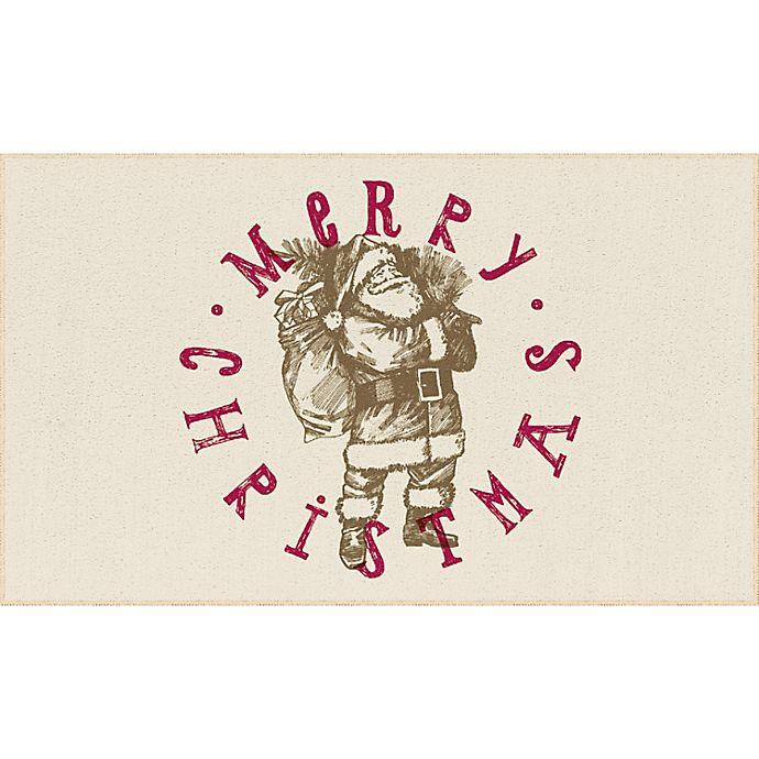 Alternate image 1 for Mohawk Home® Prismatic Vintage Santa Rug in Neutral