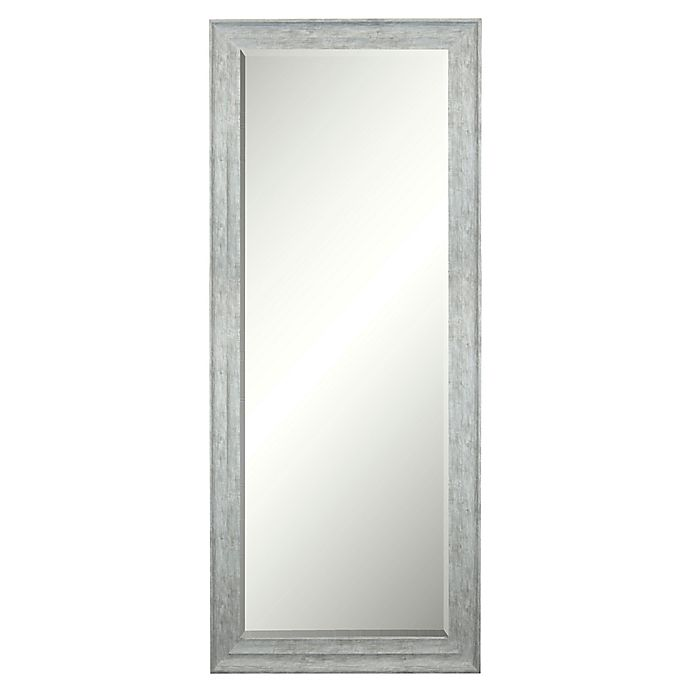 Alternate image 1 for Bee & Willow™ Home 69.5-Inch x 29.5-Inch Leaner/Wall Mirror in Shabby Grey