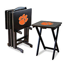 Clemson University Tigers 5-Piece TV Tray Set