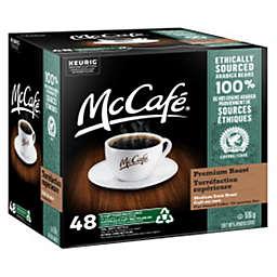 McCafe® Premium Roast Medium Dark Coffee Keurig® K-Cup® Pods 48-Count
