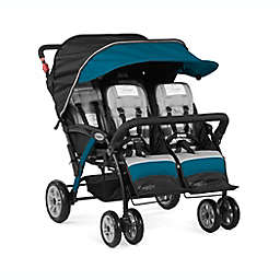 Gaggle® Compass Quad™ 4-Seat Stroller in Teal
