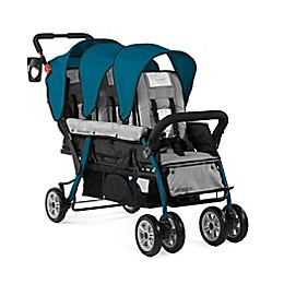 Gaggle® Compass Trio™ 3-Seat Stroller in Teal