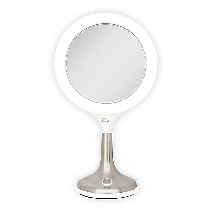 Zadro 174 8x 1x Solana Led Ring Light Vanity Mirror Bed