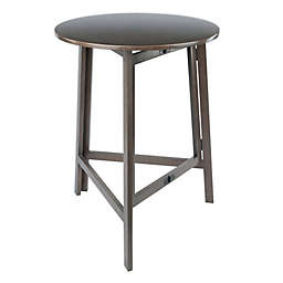 Torrence Folding High Table in Oyster Grey
