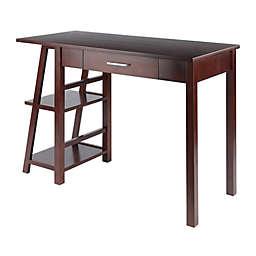 Winsome Wood Aldric Writing Desk in Walnut