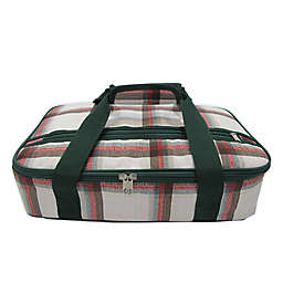 Bee & Willow 128 oz. Insulated Casserole Carrier Tote Bag in Red