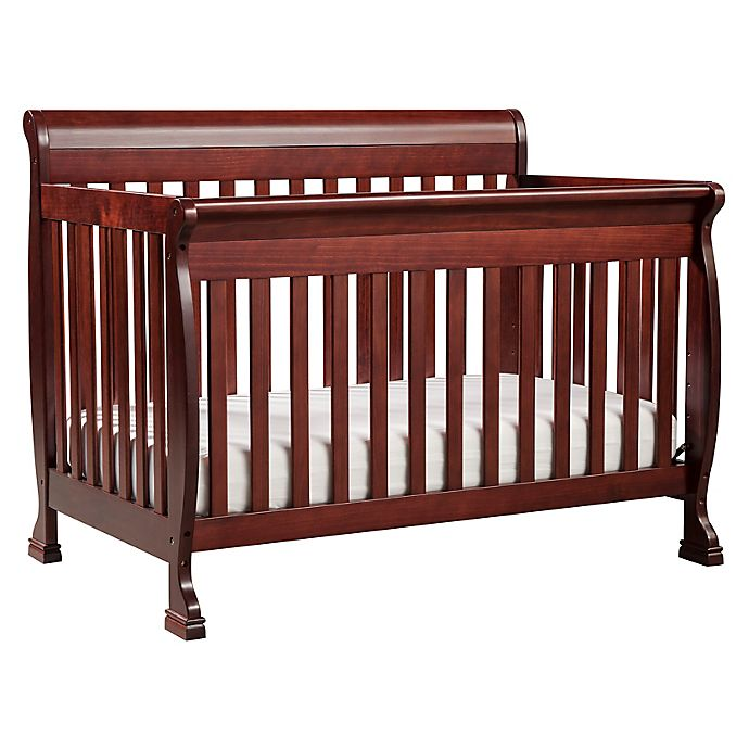Alternate image 1 for DaVinci Kalani 4-in-1 Convertible Crib in Rich Cherry