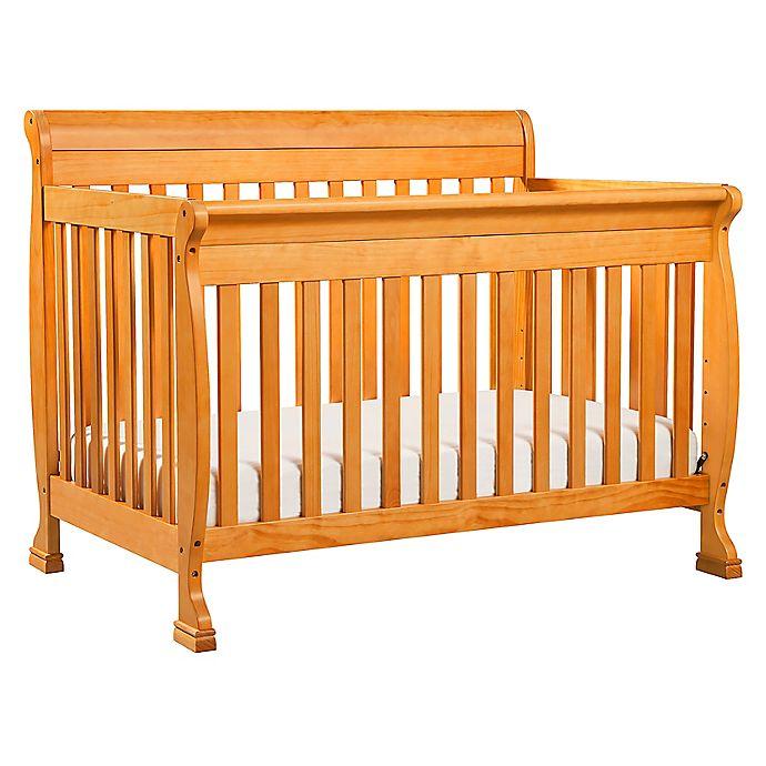 Alternate image 1 for DaVinci Kalani 4-In-1 Convertible Crib in Oak