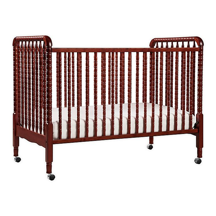 Alternate image 1 for DaVinci Jenny Lind 3-in-1 Convertible Crib in Cherry