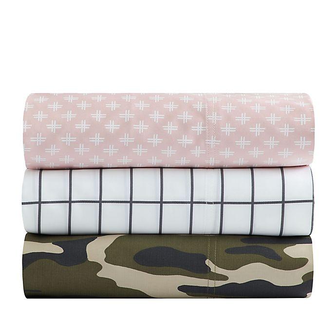 Alternate image 1 for SALT™ Camo 300-Thread-Count Cotton Sateen Sheet Set Collection