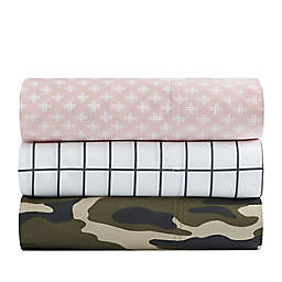 SALT™ Camo 300-Thread-Count Cotton Sateen Sheet Set