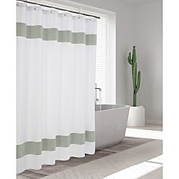 Enchante Home® 72-Inch x 72-Inch Unique Striped Shower Curtain