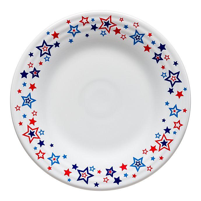 Alternate image 1 for Fiesta® Americana Stars Luncheon Plate