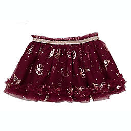 Baby Starters® Size 3M Tutu Skirt in Berry with Flowers and Dots
