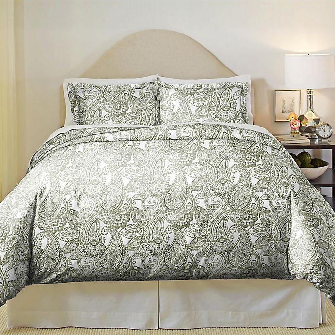 Alternate image 1 for Pointehaven Paisley Bedding Collection