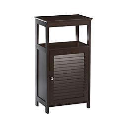 RiverRidge Home Ellsworth Single Door Floor Cabinet in Espresso