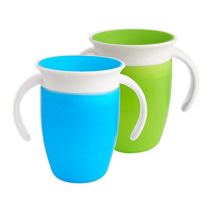 Alternate image 1 for Munchkin® Miracle® 360° 2-Pack 7 oz. Trainer Cups