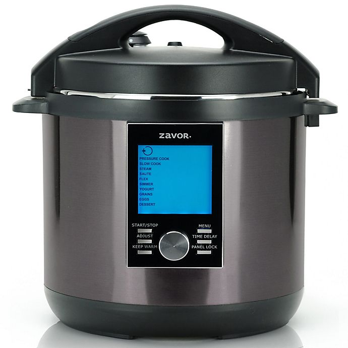 Alternate image 1 for ZAVOR® LUX® LCD 8 qt. Multicooker in Black