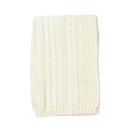 NoJo Kimberly Grant Cable Knit Blanket