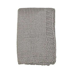 NoJo Kimberly Grant Large Gauge Cable Knit Blanket