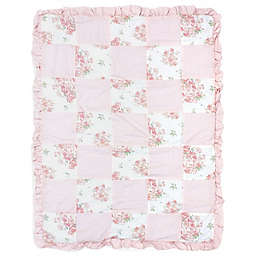 Nojo® Kimberly Grant Shabby Chic Floral Quilt in Pink