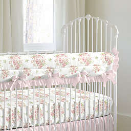 Nojo® Kimberly Grant Shabby Chic Floral Crib Rail Cover in Pink