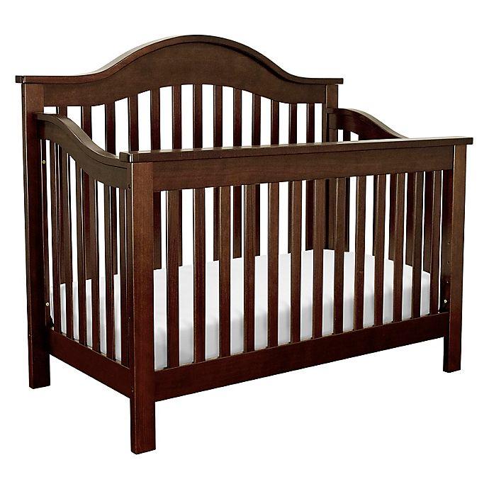 Alternate image 1 for DaVinci Jayden 4-in-1 Convertible Crib in Espresso