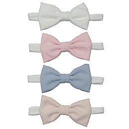 So 'dorable 4-Pack Pastel Bow Headbands