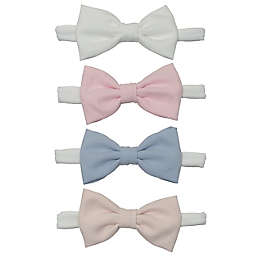 So' Dorable 4-Pack Pastel Bow Headbands