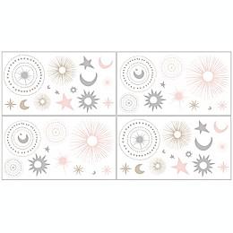 Sweet Jojo Designs Celestial Wall Decals (Set of 4)
