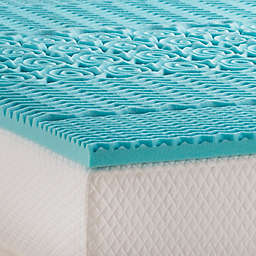 Linenspa Signature Collection™ 2-Inch Gel Memory Foam Twin XL Mattress Topper