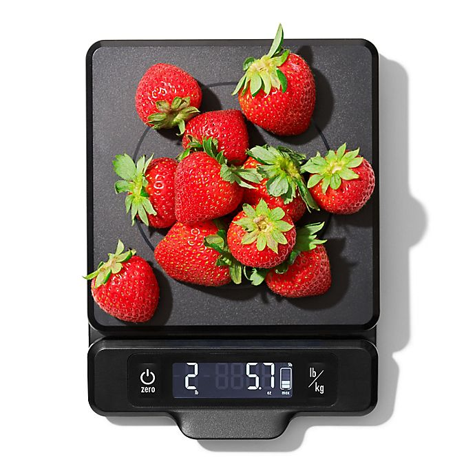 Alternate image 1 for OXO Good Grips® 5 lb. Food Scale in Black