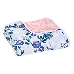 aden + anais™ essentials Flowers Bloom Muslin Blanket in Pink