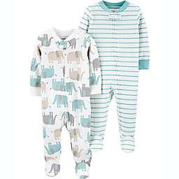 carter's® Preemie 2-Pack Elephant Sleep N' Plays