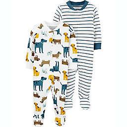 carter's® Preemie 2-Pack Dog Sleep N' Plays