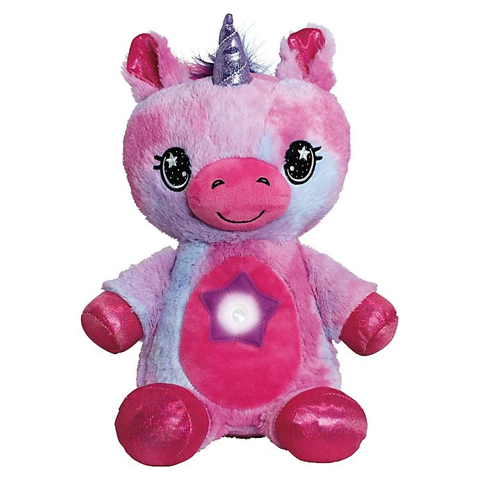 Alternate image 1 for Star Belly Dream Lites® Unicorn Plush Toy in Pink
