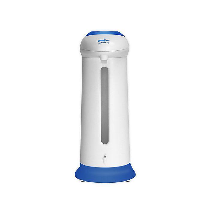 Alternate image 1 for Touchless Soap Dispenser in Blue/White