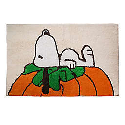 "Peanuts™ Harvest 20"" x 30"" Bath Rug in Tan"