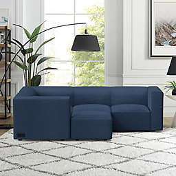 Node 3-Seater Modular Sofa in Sand