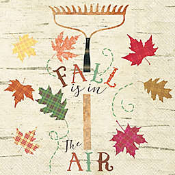 Boston International 20-Count Fall in the Air Cocktail Napkins