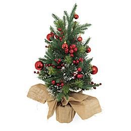 Boston International 2.6-Foot Artificial Pine Christmas Tree