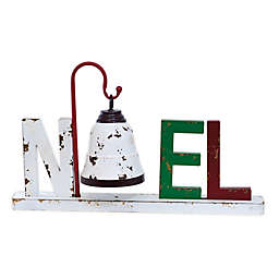 "Boston International Hanging Bell ""NOEL"" Letters Holiday Decoration"