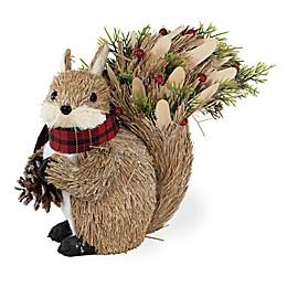 Boston International Chipper Bushy Tail Squirrel Figure