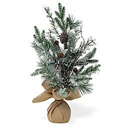 Boston International 23-Inch Large Artificial Frosted Jingle Christmas Tree