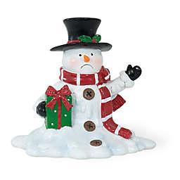 Boston International Mr. Van Der Frost Melting Snowman Figure