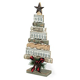 Boston International 2-Foot Artificial Firewood Christmas Tree