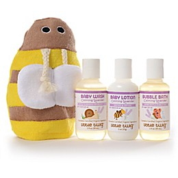 Little Twig Travel Basics & Bee Mit Set in Lavender