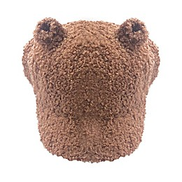 Toby Fairy™ Bear Sherpa Baseball Cap in Caramel