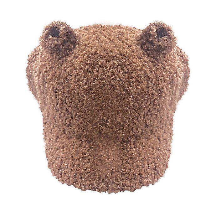 Alternate image 1 for Toby Fairy™ Infant Bear Sherpa Baseball Cap in Caramel