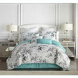 Kathy Ireland® Home Santa Barbra 8-Piece Reversible Comforter Set in Turquoise